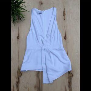 Bebe sleeveless dressy blouse